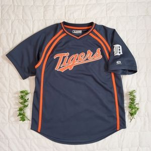 True Fan MLB Genuine Merch Detroit Tigers Jersey